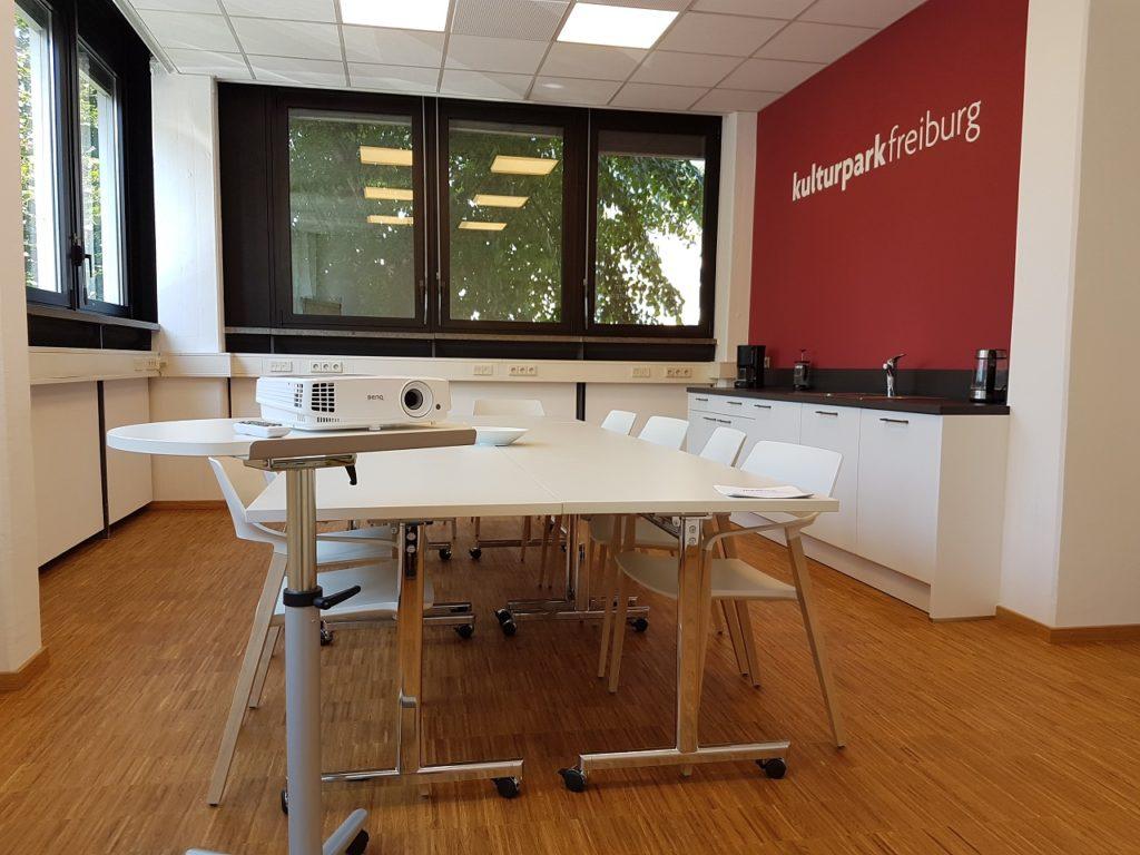 kulturpark freiburg Konferenzraum, Seminarraum, Übungsraum, Probenraum, Workshop, Meeting, Besprechung